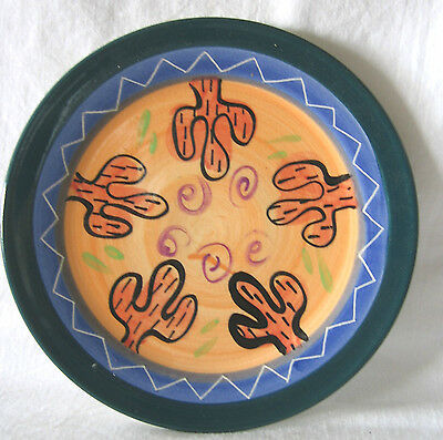 Mexican Tex Mex Pottery Plate