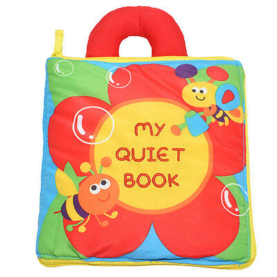 Baby Kids Toddler Soft Cloth Book Development Intelligence Cognize Books Gifts