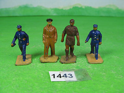 vintage Dinky toys diecast or lead mixed railway figures 1443