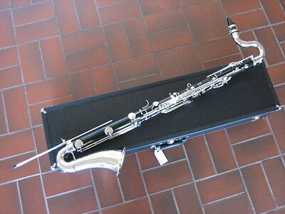 Used LEBLANC VITO Bb BASS Clarinet, new pads and corks, 100% made in the USA!