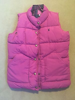 Joules Girls Gilet Pink 9-10 years