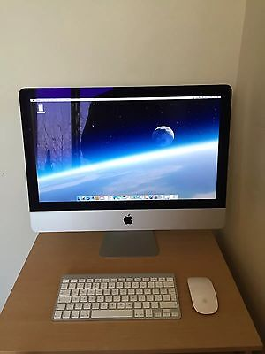Apple iMac 21.5 Inch Spotless Condition 500gb 8gb 1.4ghz Dual I5