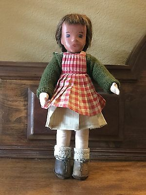 SASHA 1930s-Early 40s PRE-PRODUCTION Cloth Doll Real Hair Made for Granddaughter