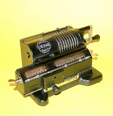 1926 Working Antique Russian Mechanical Calculator  Arithmometer Feliks Ccetmas