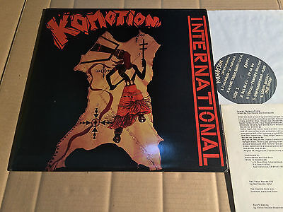 V/a - Komotion International - Lp - Raizer X Records Rx002 - Usa 1988