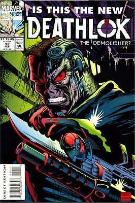 Deathlok (1991 series) #32 in Near Mint + condition. FREE bag/board