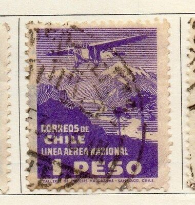 Chile 1931 Early Issue Fine Used 1P. 112866