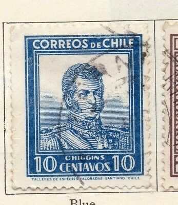 Chile 1931 Early Issue Fine Used 10c. 112868