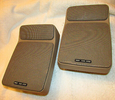 (2) Bmw Factory E23 E28 E30 Sound System Speaker Housings