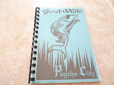 Great White 1992 Psycho City 1992 RARE EARLY Band Concert Tour Itinerary Book #7