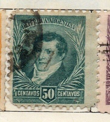 Argentine Republic 1890 Early Issue Fine Used 5c 157331 Stamps