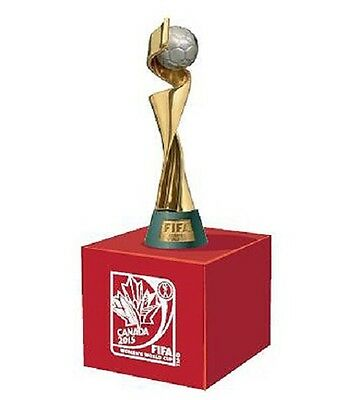 Official Fifa Womens World Cup 2015 Replica Trophy 45Mm On Stand