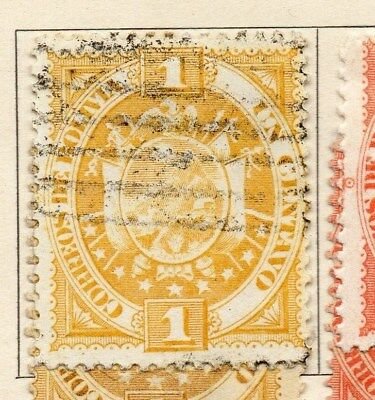 Bolivia 1894 Early Issue Fine Used 1c. 113730