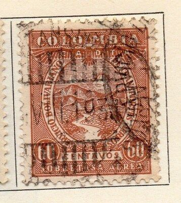 Colombia 1931 Early Issue Fine Used 60c. 113081