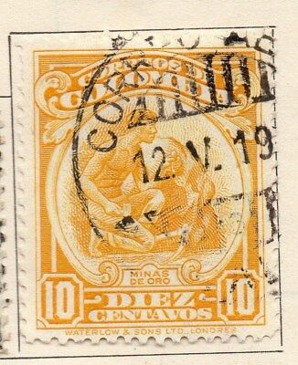 Colombia 1932 Early Issue Fine Used 10c. 113087