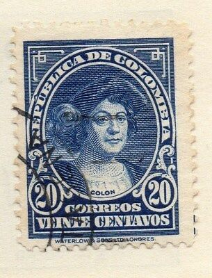 Colombia 1932 Early Issue Fine Used 20c. 113102