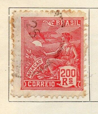 Brazil 1928-30 Early Issue Fine Used 200r. 113275