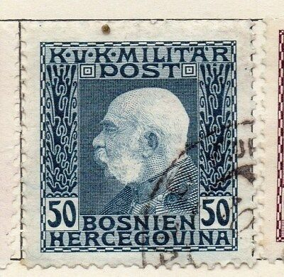 Bosnia Herzegovina 1912 Early Issue Fine Used 50h. 113403