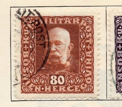 Bosnia Herzegovina 1916 Early Issue Fine Used 80h. 113406