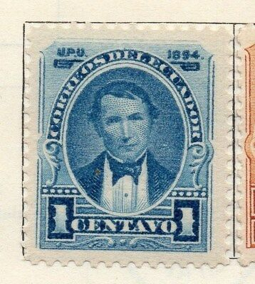 Ecuador 1894 Early Issue Fine Mint Hinged 1c. 113455