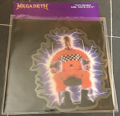 Megadeth No More Mr Nice Guy Picture Disc Metallica Iron Maiden Slayer