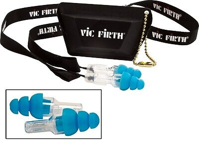 Vic Firth High Fidelity Ear Plugs. Regular and Large Sizes Available