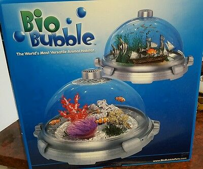 Bio Bubble Aquarium Habitat Silver,859079002015
