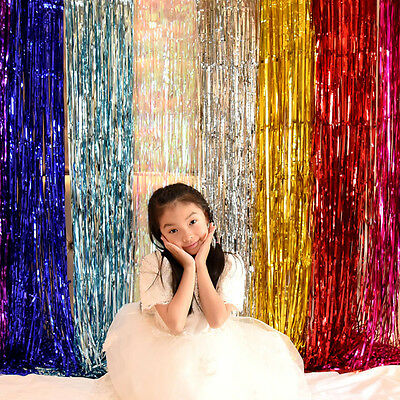 Rain Curtains Party Wedding Photo Booth Props Marriage Gathering Decorations