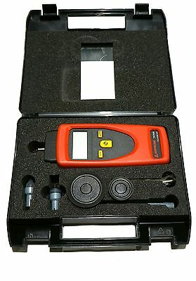 Amprobe Contact and Non-Contact Combination Tachometer TACH20 1 - 19,999RPM