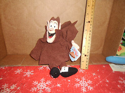 General Mills Cereal Breakfest Babies Count Chocula Plush Bean Bag w/tags #18