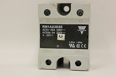Carlo Gavazzi Rm1A23D25 Solid State Relay