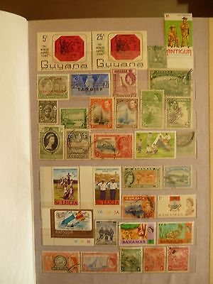 British Colonies Worldwide old stamp collection.