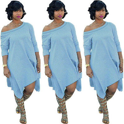 USA Women Summer Casual Cotton Loose Evening Cocktail Party Long Dress Plus Size