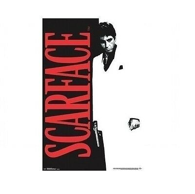 """New - SCARFACE - Al Pacino Famous Classic Movie Art Poster Print 24""""x36"""""""