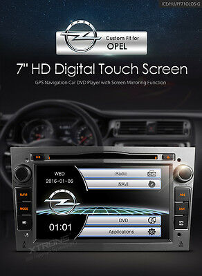 "Opel - Holden / Astra / Vectra' Double 2 Din,7""HD Dig Touch Screen DVD,GPS'"