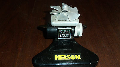 Vintage Nelson Square Spray Metal Sprinkler
