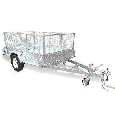 8×5FT Box Trailer Galvanized HEAVY $1950 IS THE PRICE $50 FOR DEPOSIT ONLY