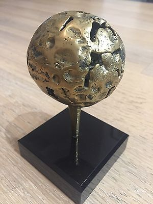 Sculpture, Trophée de Golf En Bronze