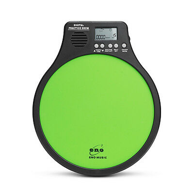 ENO EMD-41 Digital Electronic Practice Drum Pad With Metronome Speed Detection