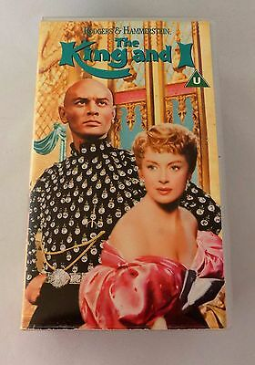 The King And I (VHS Video & Soundtrack Cassette Tape) Rogers & Hammerstein