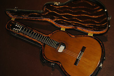 2006 Simon Rovis-Hermann classical guitar -cedar (w/ sound sample)