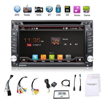 Android 4.4 Car Audio GPS Navigation 2DIN Car Stereo Radio Car GPS BT Player Map