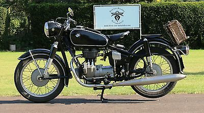 1956 BMW R-Series  BMW R26 matching numbers 1956 with dutch registration papers