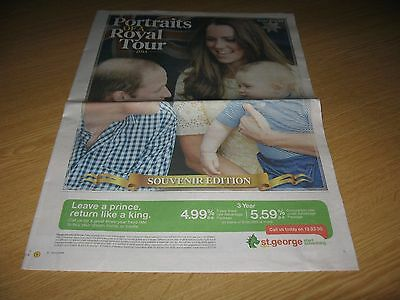 PORTRAITS OF A ROYAL TOUR Clippings 2014 PRINCE WILLIAM PRINCE GEORGE KATE