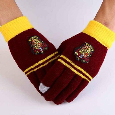 Harry Potter Style Gloves Touch Phone Cosplay Film Replica World Book Day
