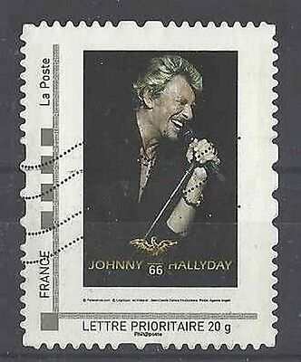 Timbre France Collector Musique Johnny Hallyday lot 17125