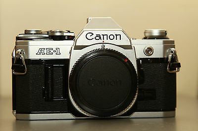 Canon AE-1 film camera body only