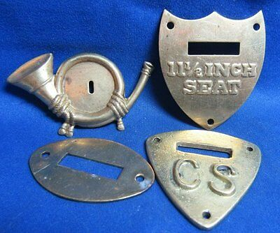 Indian Wars Army and National Guard Cavalry and Infantry Equipment Markers Lot