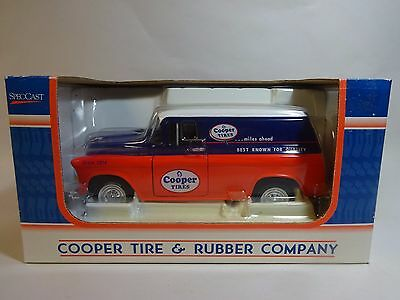 Cooper Tires 1957 Chevrolet Panel Delivery Wagon Die Cast