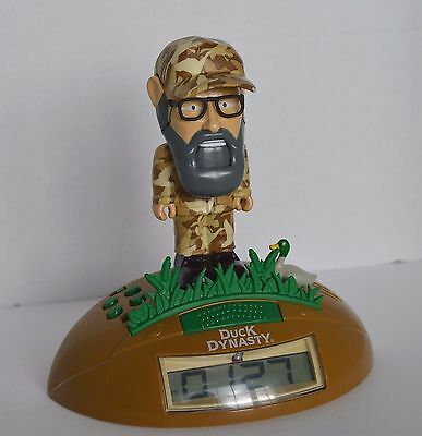Uncle Si Duck Dynasty clock, battery operated, Si talks